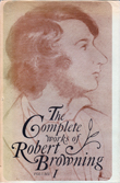 Cover of The Complete Works of Robert Browning, Volume I