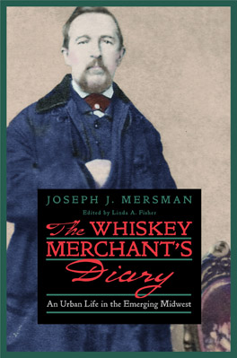 Cover of 'The Whiskey Merchant's Diary'