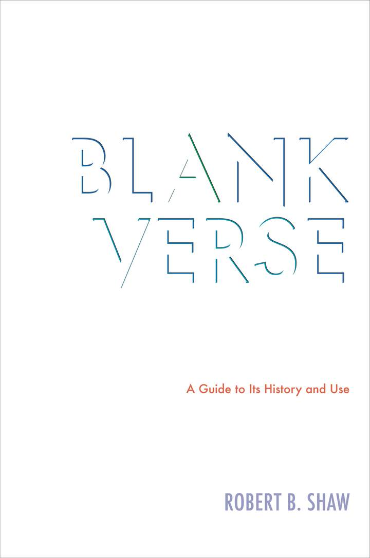 Cover of 'Blank Verse'