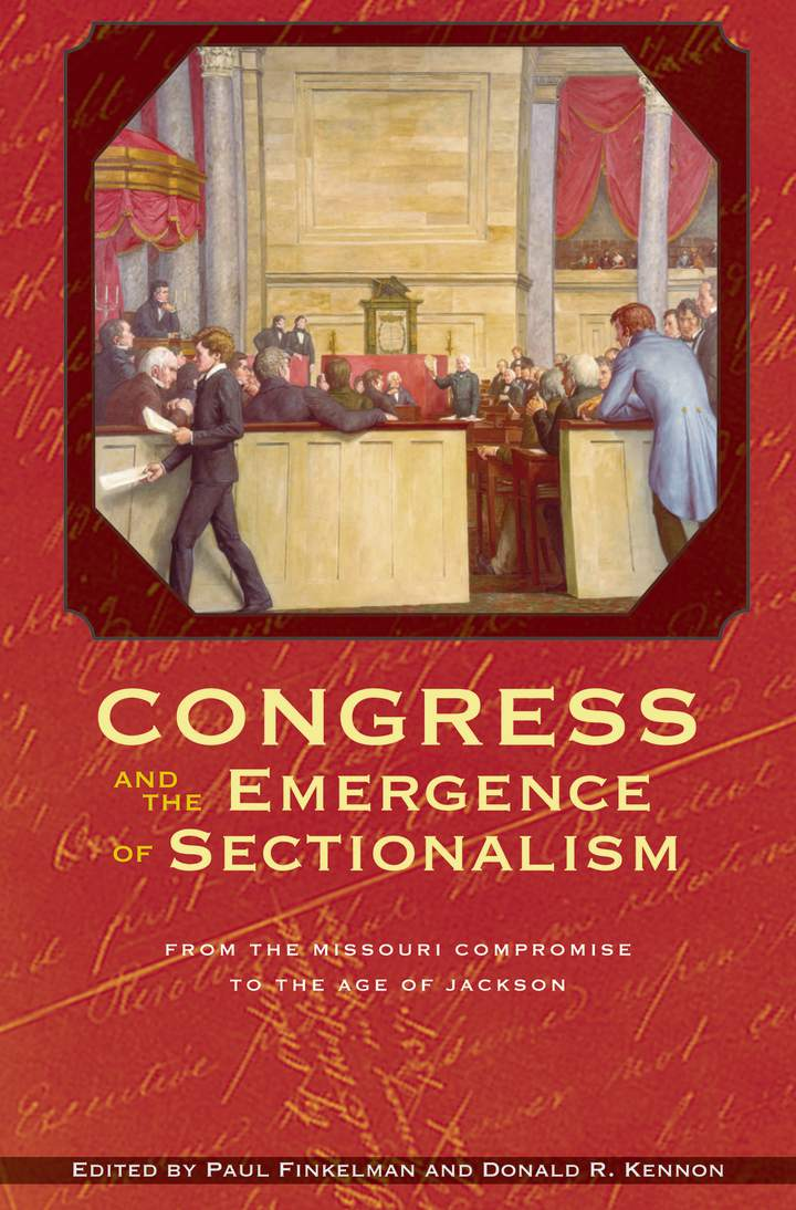 Cover of 'Congress and the Emergence of Sectionalism'