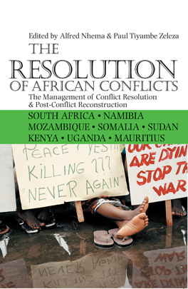 Cover of The Resolution of African Conflicts