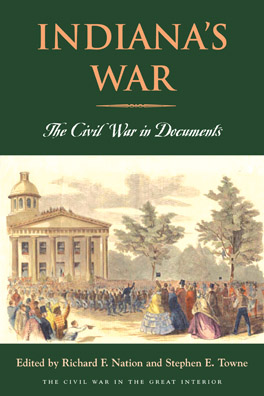 Cover of 'Indiana's War'