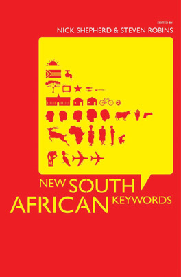 Cover of 'New South African Keywords'