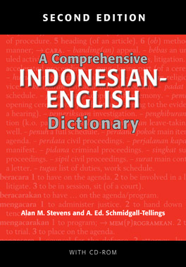 Cover of 'A Comprehensive Indonesian–English Dictionary'