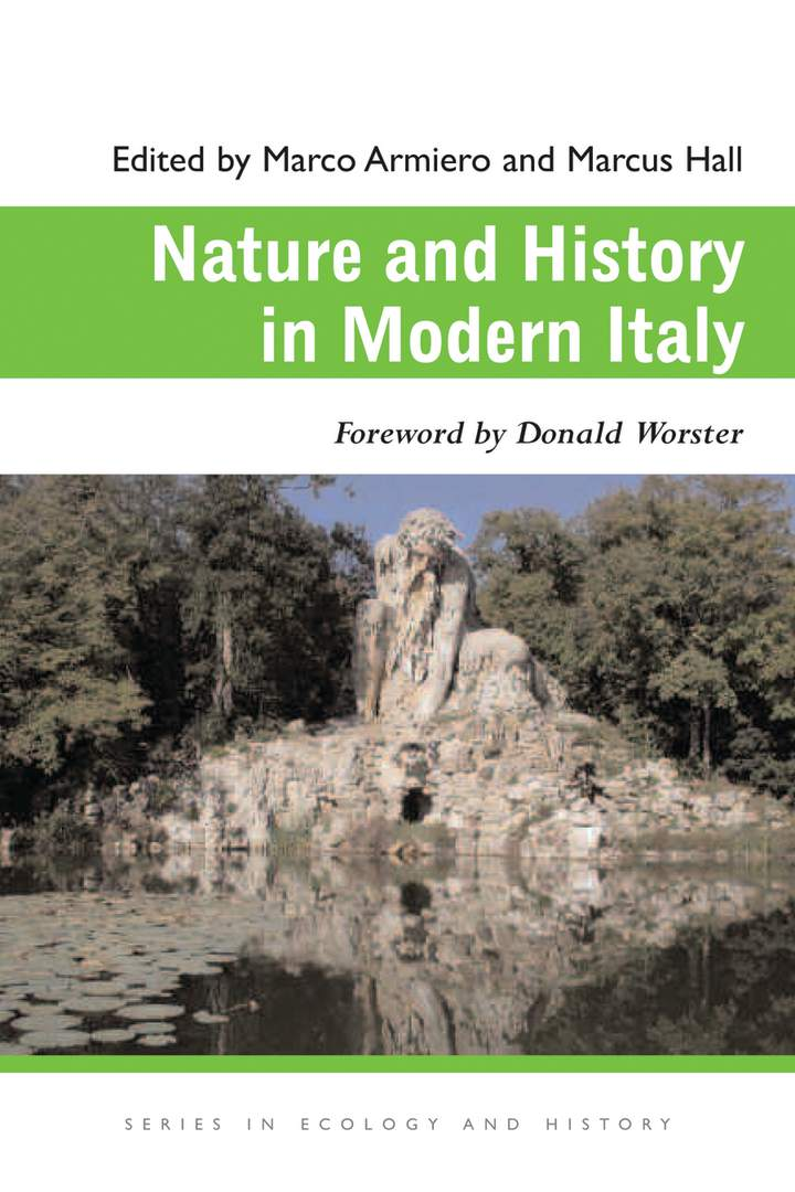Cover of 'Nature and History in Modern Italy'