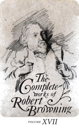 Cover of The Complete Works of Robert Browning, Volume XVII