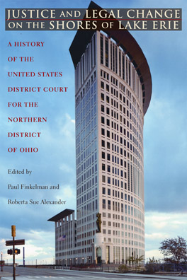 Cover of 'Justice and Legal Change on the Shores of Lake Erie'