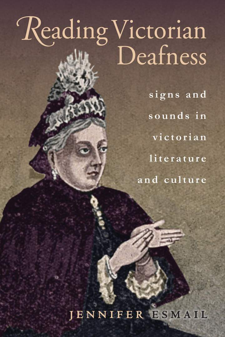 Cover of Reading Victorian Deafness