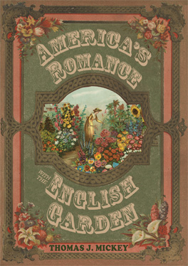Cover of America's Romance with the English Garden