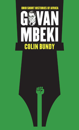 Cover of 'Govan Mbeki'
