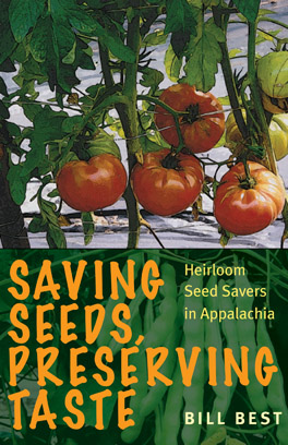 Cover of 'Saving Seeds, Preserving Taste'