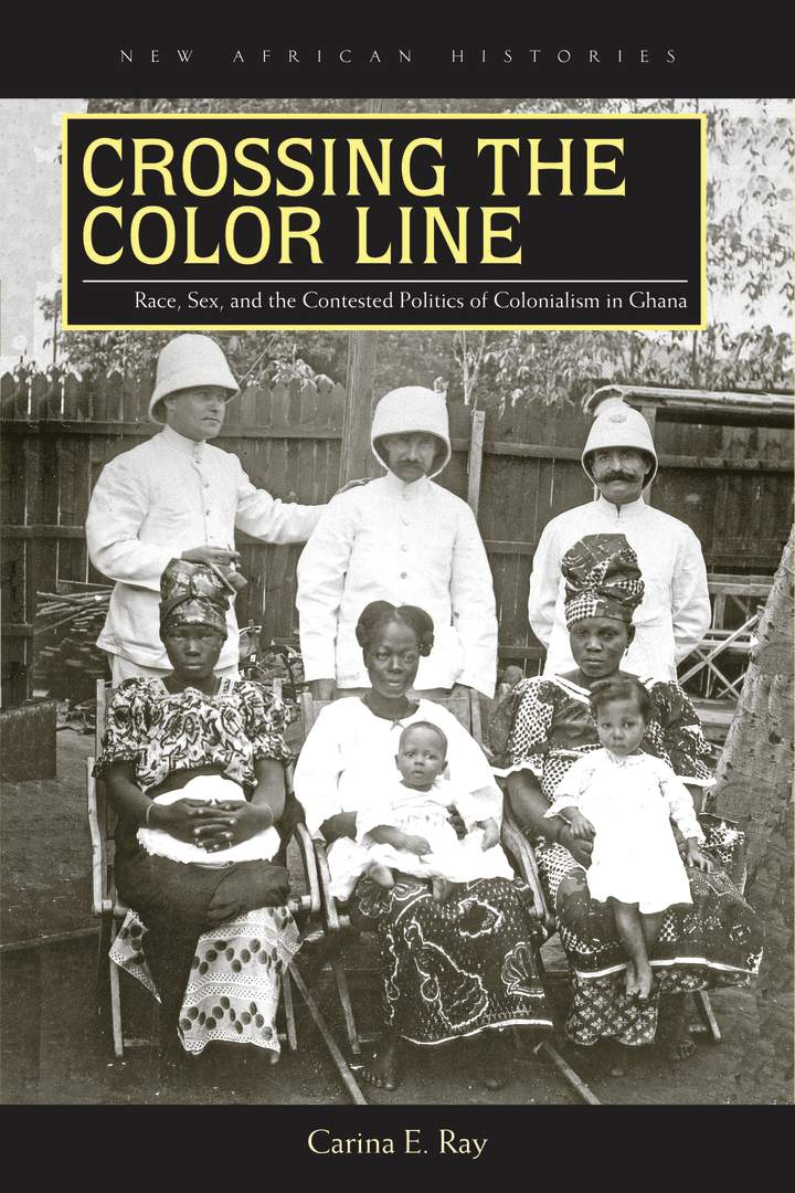 Cover of 'Crossing the Color Line'