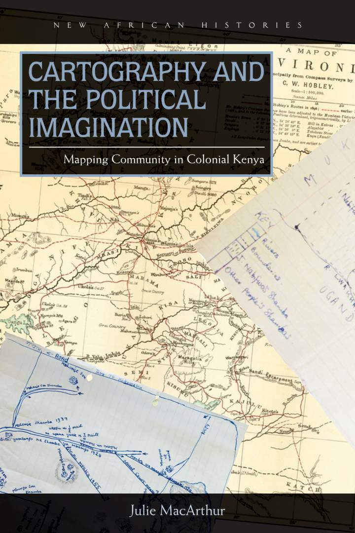 Cover of Cartography and the Political Imagination