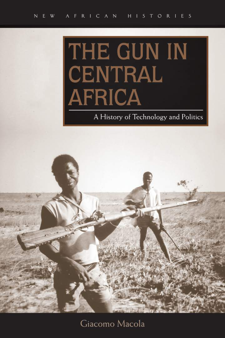 Cover of The Gun in Central Africa