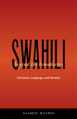 Cover of 'Swahili beyond the Boundaries'