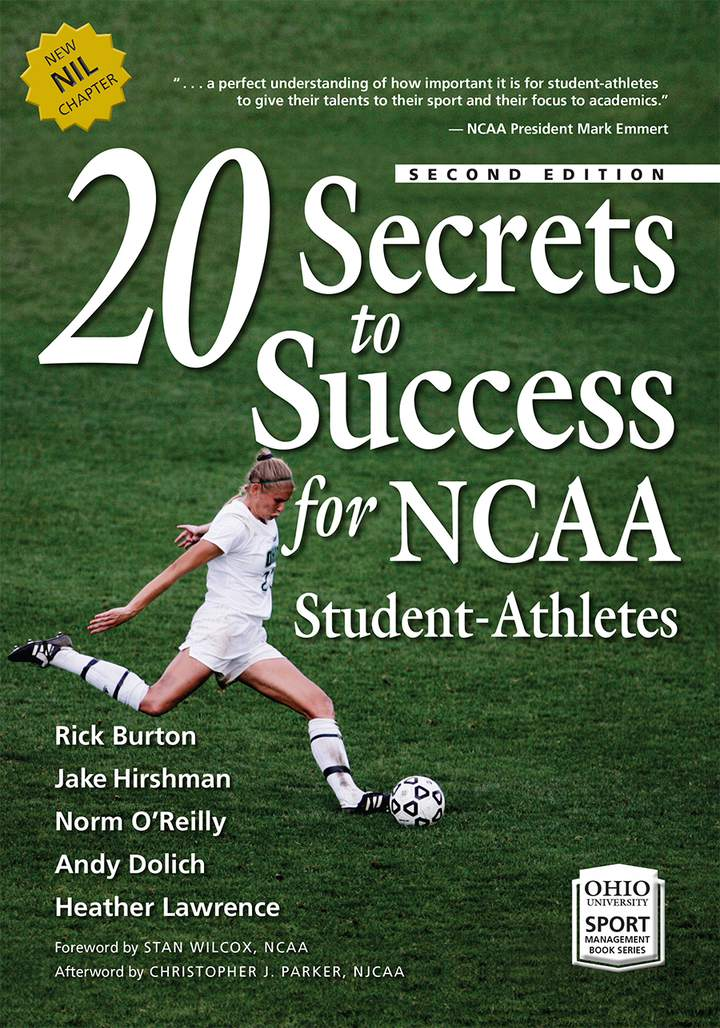 Cover of '20 Secrets to Success for NCAA Student-Athletes'