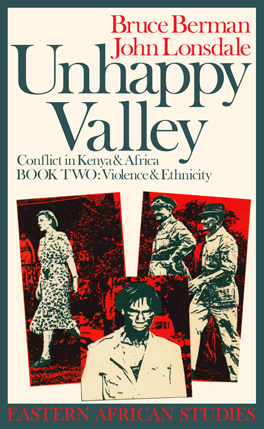 Cover of 'Unhappy Valley'