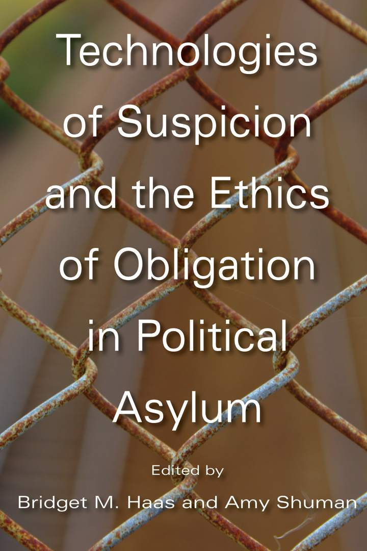 Cover of 'Technologies of Suspicion and the Ethics of Obligation in Political Asylum'