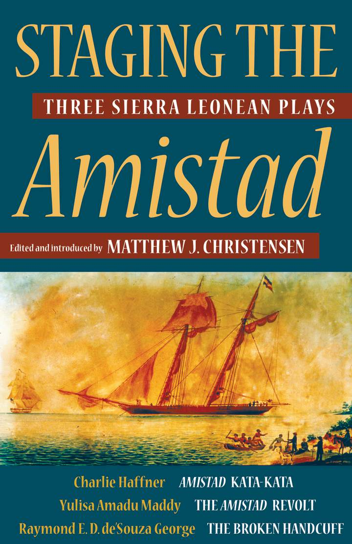 Cover of Staging the Amistad