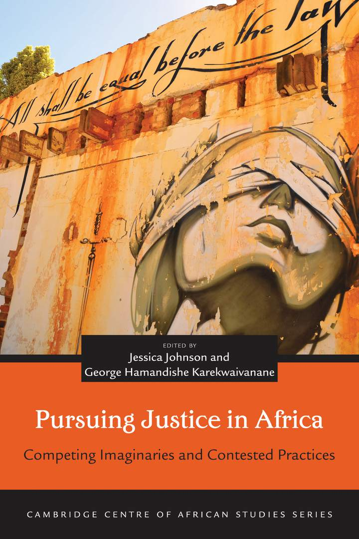 Cover of 'Pursuing Justice in Africa'