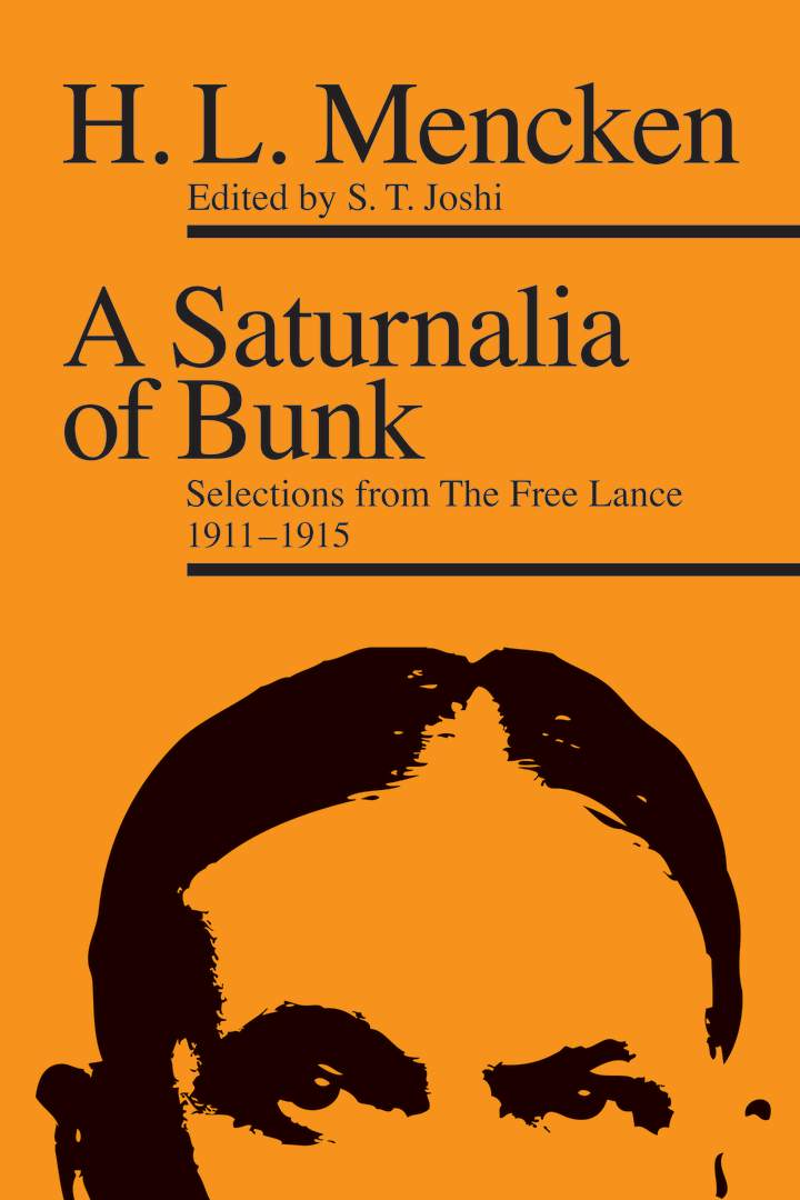 Cover of 'A Saturnalia of Bunk'
