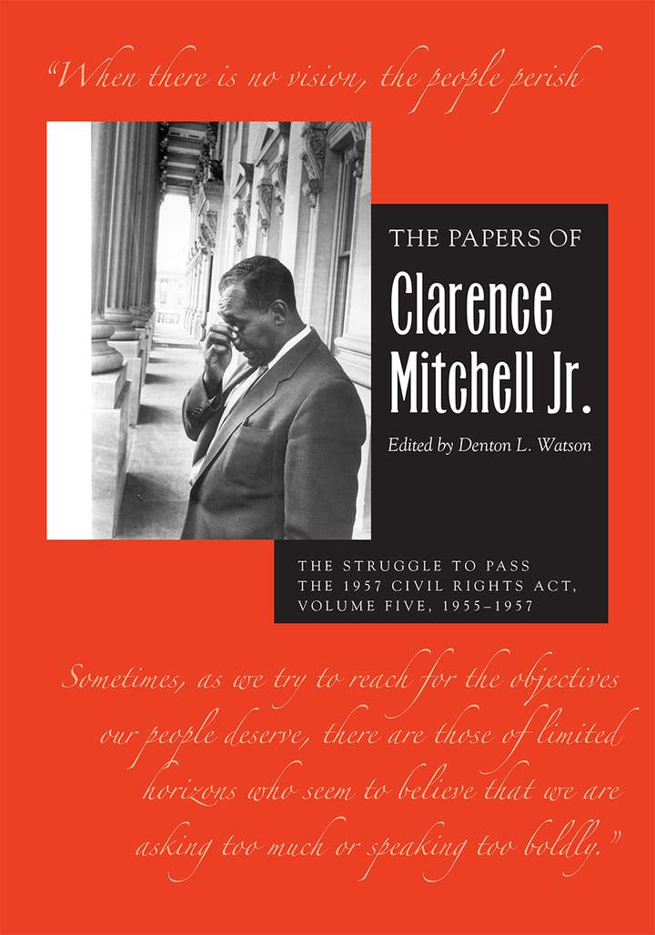 Cover of 'The Papers of Clarence Mitchell Jr., Volume V'