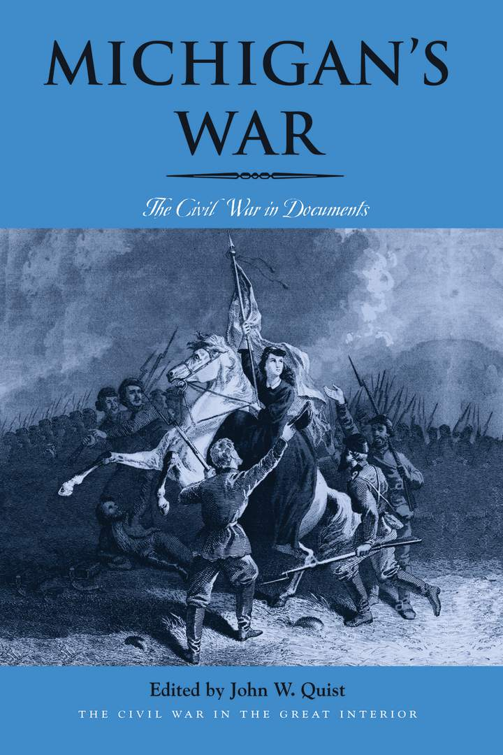Cover of 'Michigan's War'