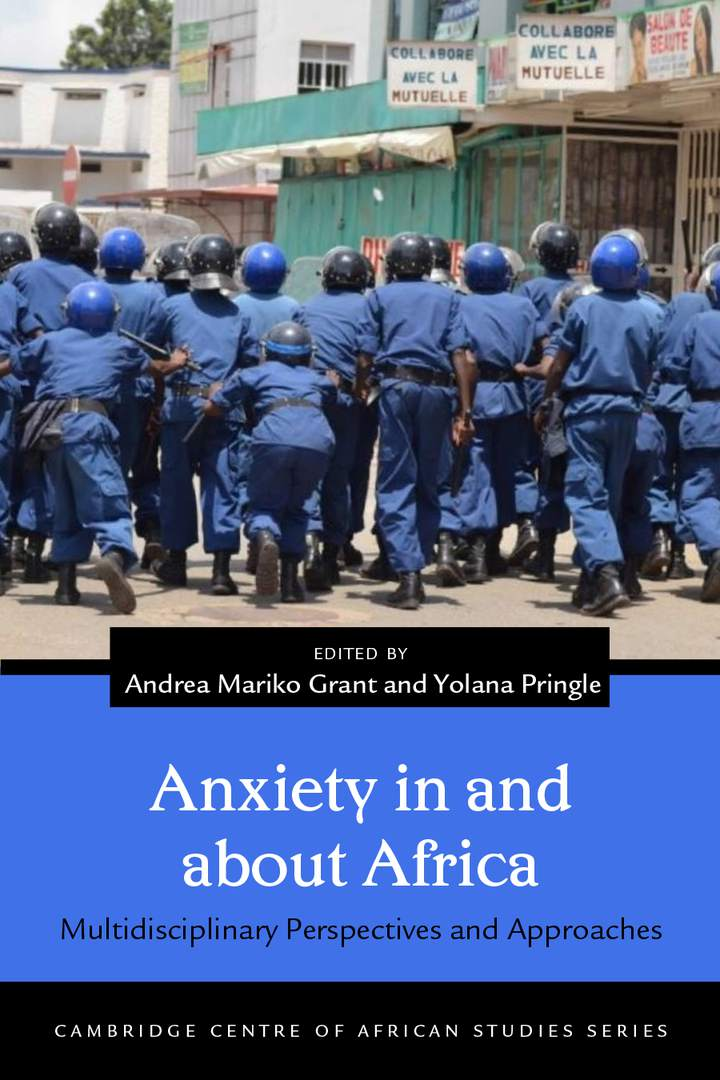 Cover of 'Anxiety in and about Africa'