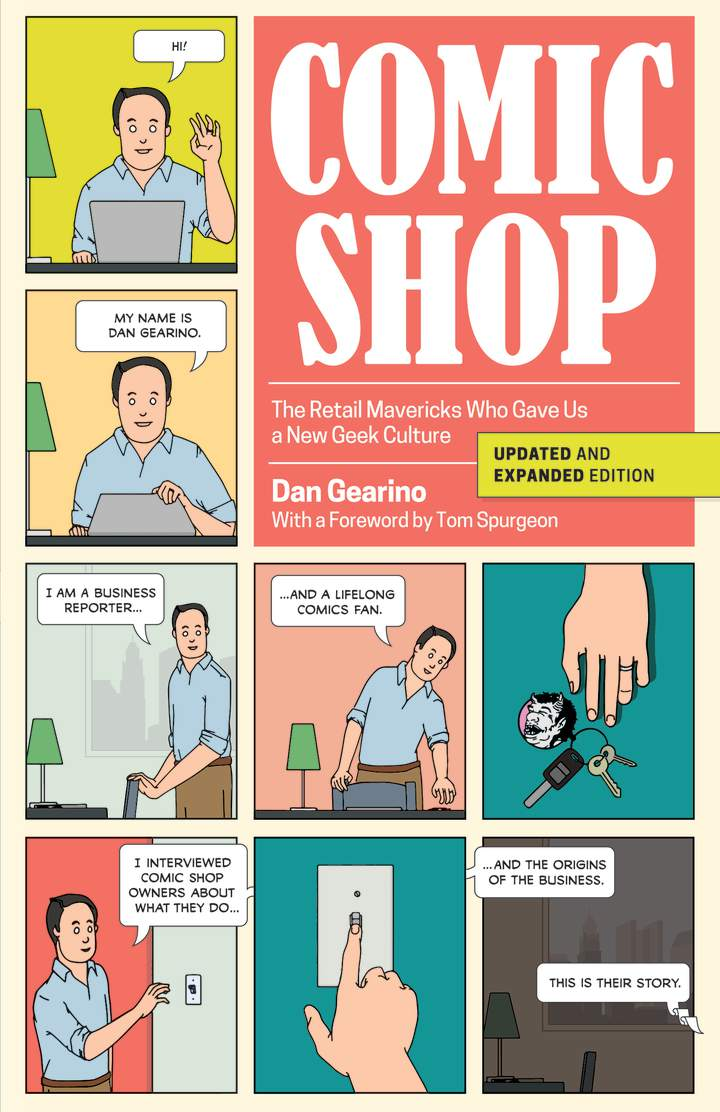 Cover of 'Comic Shop'