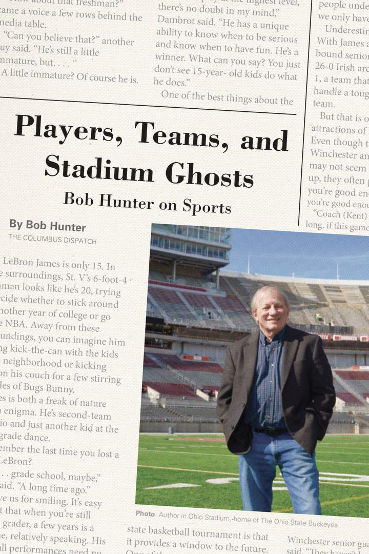 Cover of 'Players, Teams, and Stadium Ghosts'